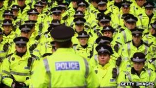 Strathclyde Police officers