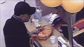 CCTV image of man police want to speak to over robbery
