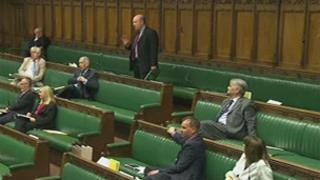 Ian Davidson speaking in the House of Commons