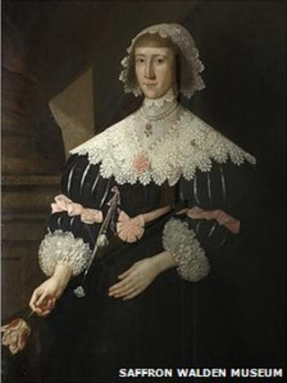 """The """"Unknown Lady"""" by Gilbert Jackson at the Saffron Walden Museum"""