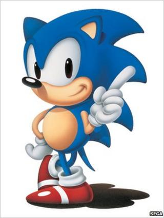 Sonic the Hedgehog in 1991