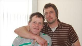 Paul (left) and Andy (right) at Compass in Selby