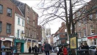 Kings Square, York