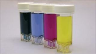 Coloured viles