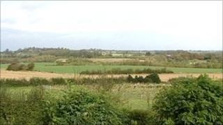Site of UK Coal mine near Measham