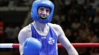 The Belfast-born light-flyweight won a bronze medal at the Olympic Games in Beijing two years ago.