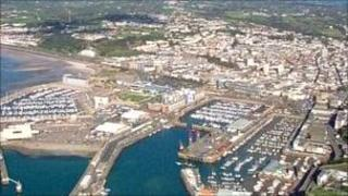 View of Jersey from the sky