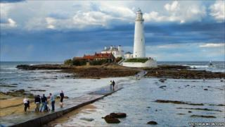 St Mary's Lighthouse. Picture: Victoria McIntosh