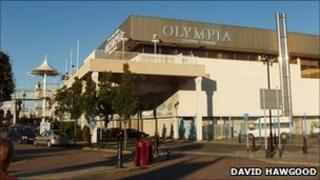 Olympia Leisure Centre. Pic copyright David Hawgood and licensed for reuse under Creative Commons Licence
