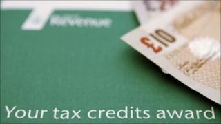 Tax credits document