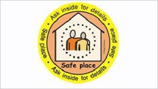 Safe Places sticker