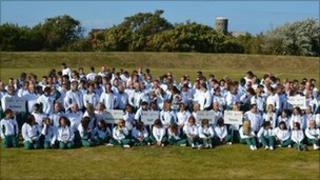 Guernsey Island Games team