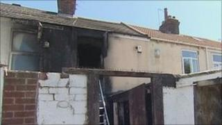 House fire in Hull