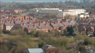 Gone: Former white Hightown flats