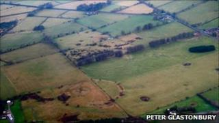 Priddy Circles - Photo: Peter Glastonbury