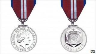 Queen's Diamond Jubilee medal