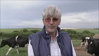 Dairy farmer James Cossins