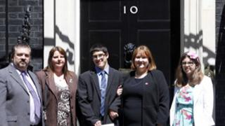 Andrew Green at Downing Street