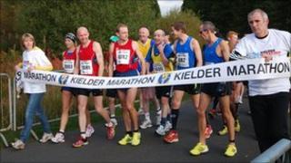 Runners. Photo: Nathan Callaghan