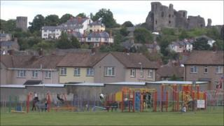 Current playground facilities are aimed at younger children in upper Denbigh