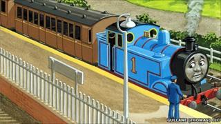 Thomas the Tank Engine (c 2011 Gullane (Thomas) LLC. A HIT Entertainment company)