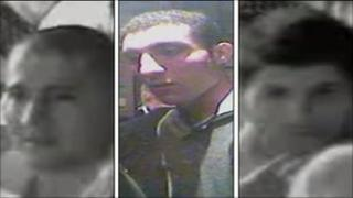 CCTV of three men police want to question