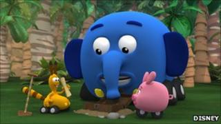 Jungle Junction characters