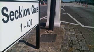 Secklow Gate Bridge, Milton Keynes