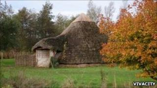 Flag Fen Bronze Age site in Cambridgeshire