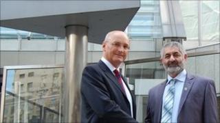 Sir Paul Stephenson and General Hakim Angar