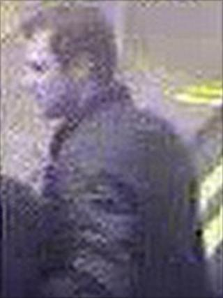 CCTV image of man being sought in connection with both attacks