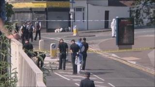 Police search Stapleton Road
