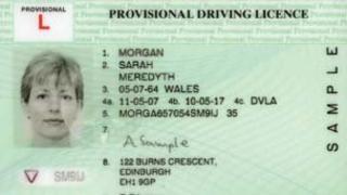 New NI driving licence