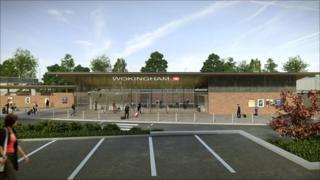 Wokingham station design