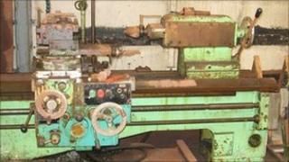Machine at Ineos plant
