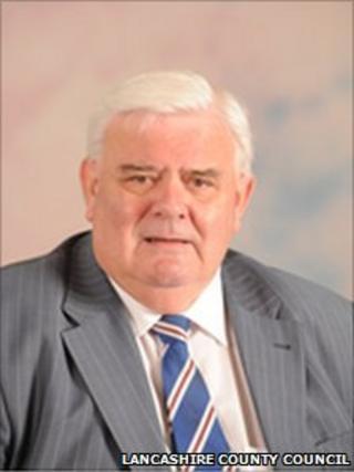Albert Atkinson, deputy leader of Lancashire County Council