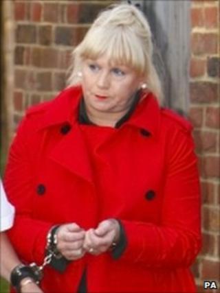 Loraine Upritchard after sentencing