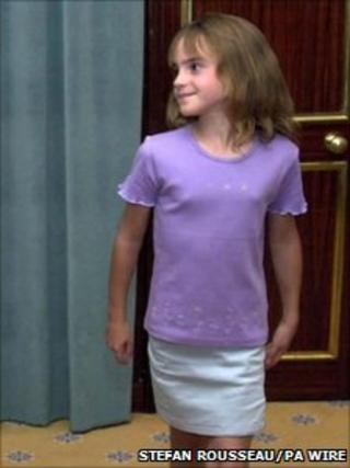 Emma Watson in 2000