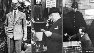 John Christie, reporter Norman Rae, John George Haigh