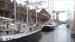 Tall Ships in Greenock