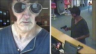 CCTV photos of Ladbroke's robber