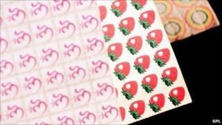 Stock image of LSD