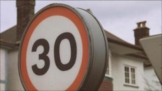 30mph speed limit