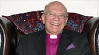 The Bishop of Doncaster Cyril Ashton