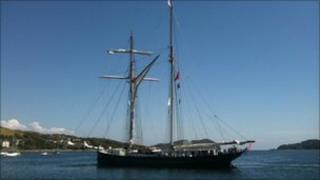 tall ship wylde swan