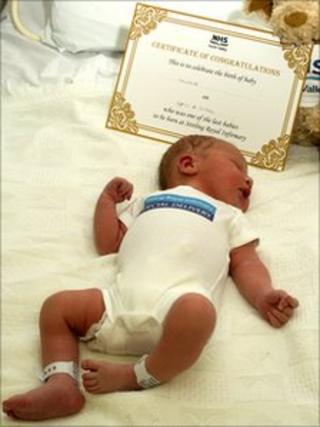 Baby Liam Hendrie