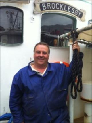 Paul Lines, chairman of the Anglia Fishermen's Association