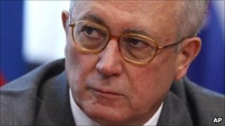 Italian Finance Minister Giulio Tremonti
