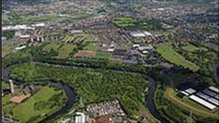 area to be regenerated by Clyde gateway scheme