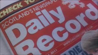 Daily Record paper